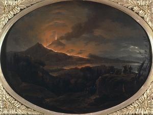 Eruption of Vesuvius by Michael Wutky