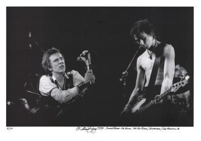 Johnny Rotten - Sid Vicious by Michael Zigaris