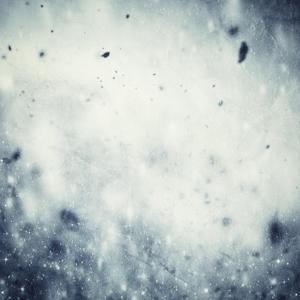 Winter, Christmas Background: Snow Storm, Frost, Glittering Lights by Michal Bednarek