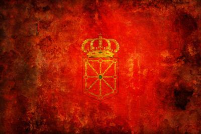 Flag Of Navarra by michal812