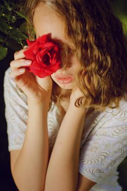Portrait of a Rose by Michalina Wozniak