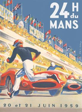 1959 Grand Prix - 24 hours of Le Mans France - Endurance Racing by Michel Beligond