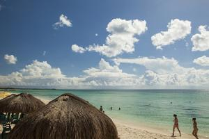 Beaches and Resorts on the West Side of Isla Cozumel, Mexico by Michel Benoy Westmorland