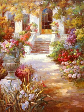 Garden Urn II by Michel Brevard