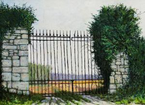 La Porte des Champs, 2003 by Michel Bultet