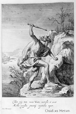 Alcyone and Ceyx Transformed into Birds, 1655 by Michel de Marolles