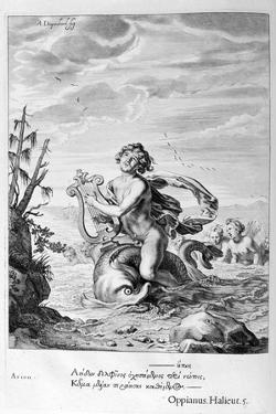 Arion Saved by a Dolphin, 1655 by Michel de Marolles