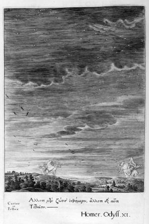 Castor and Pollux, 1655 by Michel de Marolles
