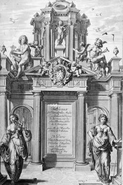 Frontispiece of Tableaux Du Temple Des Muses, 1655 by Michel de Marolles