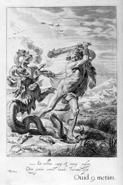 Hercules and the Hydra, 1655 by Michel de Marolles