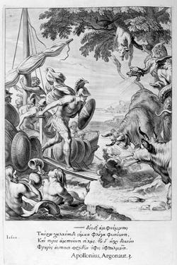 Jason and the Argonauts, 1655 by Michel de Marolles