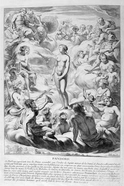 Pandora's Box, 1655 by Michel de Marolles
