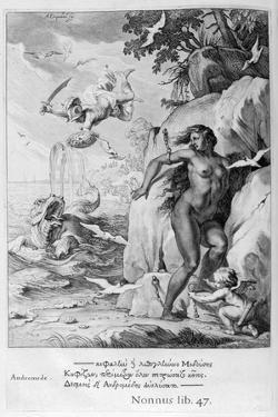 Perseus Delivers Andromeda from the Sea Monster, 1655 by Michel de Marolles