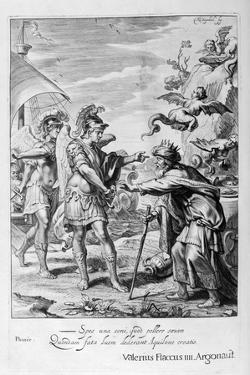 Phineus Is Delivered from the Harpies by Calais and Zethes, 1655 by Michel de Marolles