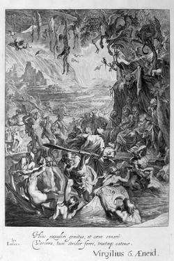 Scene of Hell, 1655 by Michel de Marolles
