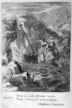 The Argonauts Pass the Symplegades, 1655 by Michel de Marolles