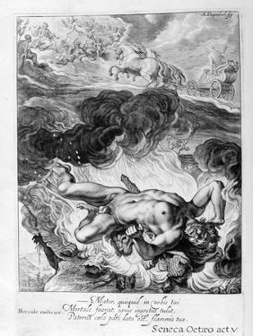 The Death of Hercules, 1655 by Michel de Marolles