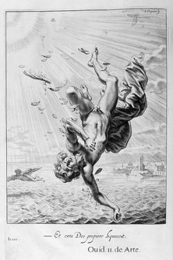 The Fall of Icarus, 1655 by Michel de Marolles