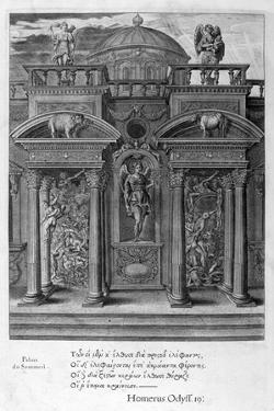 The House of Sleep, 1655 by Michel de Marolles