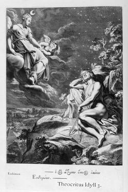 The Moon and Endymion, 1655 by Michel de Marolles