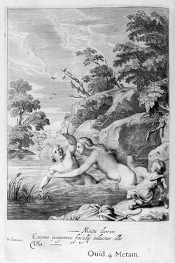 The Nymph Salmacis and Hermaphroditus, 1655 by Michel de Marolles