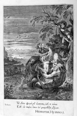 Tithonus, Eos's Lover, Turned into a Grasshopper, 1655 by Michel de Marolles