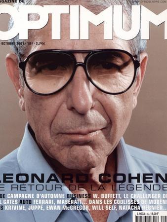 L'Optimum, October 2001 - Leonard Cohen by Michel Figuet