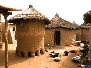 Houses in Djiri Village by Michel Gounot