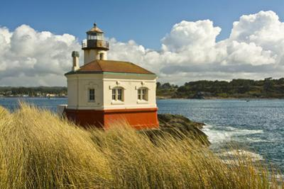 Afternoon, Coquille River Lighthouse From Bullards State Park, Oregon, Usa by Michel Hersen