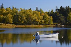 Autumn, Bass Harbor, Mount Desert Island, Maine, USA by Michel Hersen