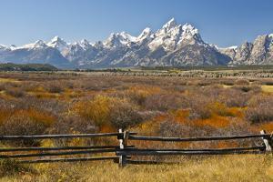 Autumn, Cunningham Cabin Area, Grand Tetons, Grand Teton NP, Wyoming by Michel Hersen