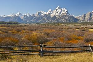 Autumn, Cunningham Cabin Area, Grand Tetons, Grand Teton NP, Wyoming by Michel Hersen