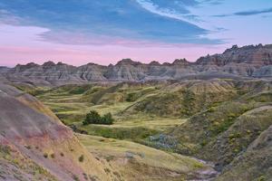 Badlands National Park, South Dakota, USA by Michel Hersen