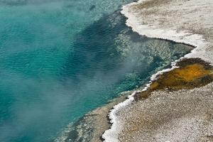 Black Pool, West Thumb Geyser Basin, Yellowstone National Park, Wyoming, USA by Michel Hersen