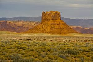 Butte, Navajo Nation Scenic Byway, Arizona, USA by Michel Hersen