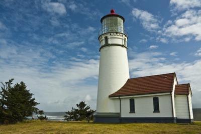 Cape Blanco Lighthouse, Cape Blanco State Park, Oregon, Usa by Michel Hersen