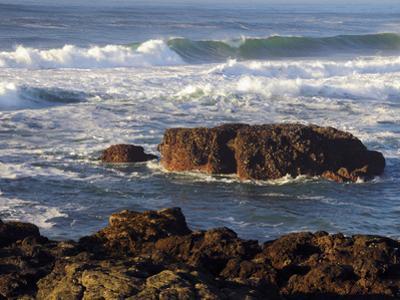 Incoming Tide at Yachats, Yachats, Oregon, USA