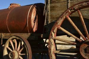 Mule Train Wagon, Harmony Borax Works, Death Valley, California, USA by Michel Hersen