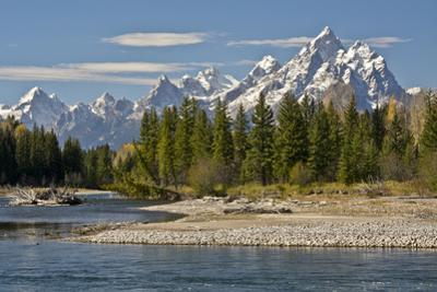 Pacific Creek, Moran Junction, Grand Teton National Park, Wyoming, USA