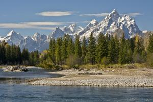 Pacific Creek, Moran Junction, Grand Teton National Park, Wyoming, USA by Michel Hersen