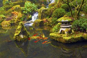 Portland Japanese Garden, Portland, Oregon, USA by Michel Hersen