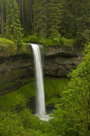 South Falls, Silver Falls State Park, Oregon, Usa