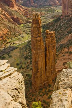Spider Rock, Canyon de Chelly, Chinle, Arizona, USA by Michel Hersen