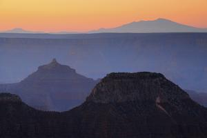 Sunrise, Bright Angel Point, North Rim, Grand Canyon National Park, Arizona, USA by Michel Hersen