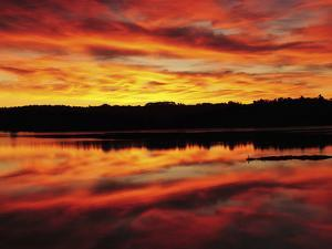 Sunrise on the New Meadows River, Brunswick, Maine, USA by Michel Hersen