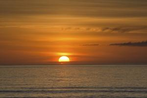 Sunset, Heceta Beach, Oregon Coast, Pacific Ocean, Oregon, USA by Michel Hersen