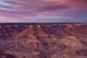 Sunset, Hopi Point, South Rim, Grand Canyon NP, Arizona, USA by Michel Hersen