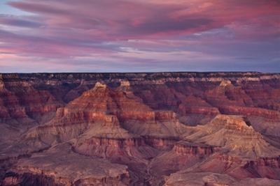 Sunset, Hopi Point, South Rim, Grand Canyon NP, Arizona, USA