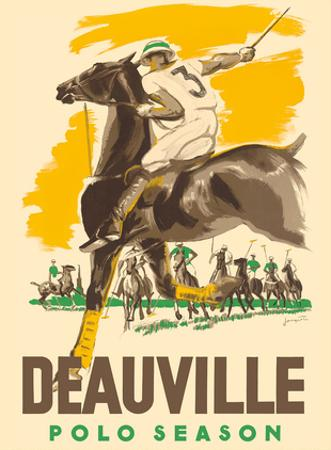 Deauville Polo Season - Normandy, France by Michel Jacquot