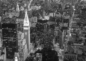 Aerial view of Manhattan, NYC by Michel Setboun